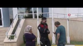 Antalya#039;da belediye çalışanına hayatının şokunu yaşattı!