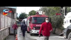 Antalya'da beton harcı dökümü sırasında kalıp çöktü! Yaralılar var...