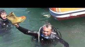 Antalya#039;da denizden çıkanlar herkesi şoke etti!