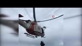 Antalya'da film gibi kurtarma operasyonu!