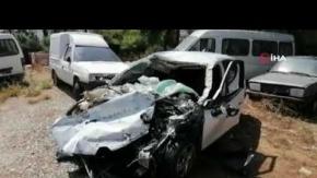 Antalya'da intihar gibi kaza