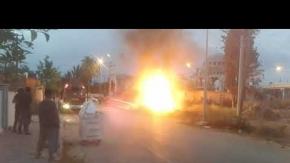 Antalya#039;da korkutan yangın!