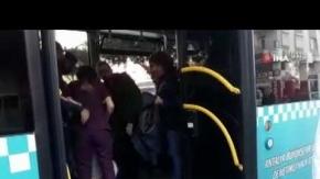 Antalya'da otobüs şoförü hayat kurtardı!