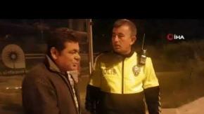 Antalya'da yayalara çarpıp kaçtı, polise zor anlar yaşattı!