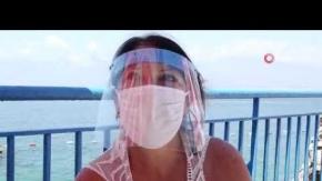 Antalya'nın mavi bayraklı falez plajları pandemi kurallarıyla açıldı