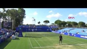 Antalya Open Tenis Turnuvası devam ediyor