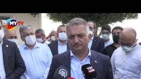 """Antalya Valisi Ersin Yazıcı: """"Üreticilere destek vereceğiz"""""""