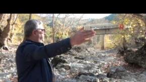 Antalya'nın Akseki ve İbradı ilçe sınırlarındaki Üzümdere Irmağı kurudu