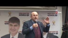 Bakan Çavuşoğlu#039;ndan tanzim açıklaması!