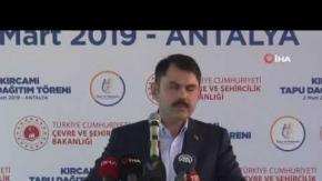 """Bakan Kurum: """"Ülkemizi depreme karşı hazırlıyoruz"""""""