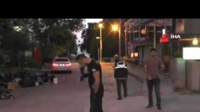 Cadde ortasında silahlar konuştu! Yaralılar var