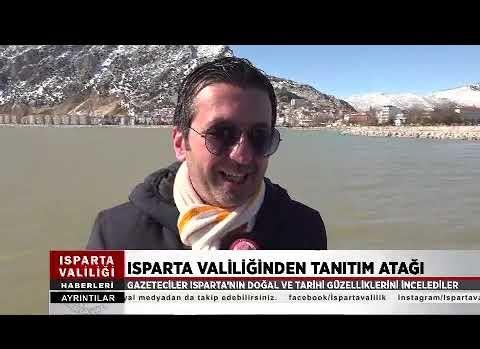 Akdeniz Gazeteciler Federasyonu Başkanları Isparta'da toplandı (2.video)