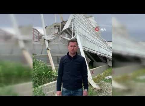 Antalya'daki fırtınanın bilançosu belli oldu