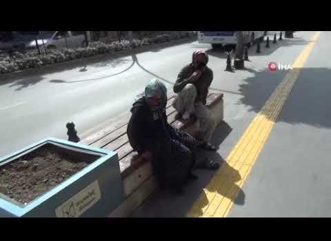 Antalya kadın dilencilerin kavgası