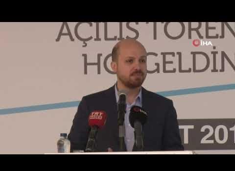 Bilal Erdoğan Antalya'da konuştu