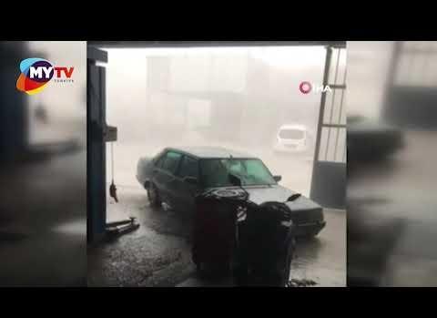 Fırtınaya yakalanan genç kadın öldü