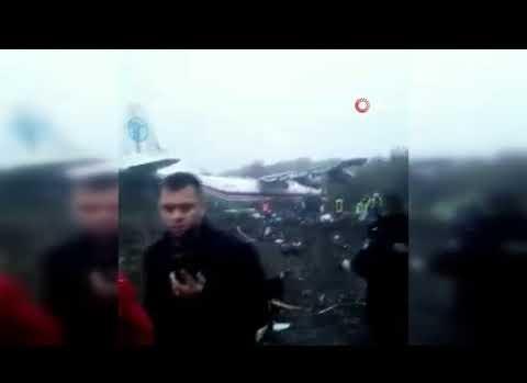 İstanbul'a gelen kargo uçağı düştü!