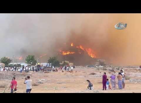 İşte Antalya'daki yangın felaketinin görüntüleri