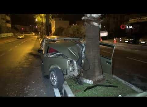 Manavgat'ta feci kaza! O anlar kameralara yansıdı!