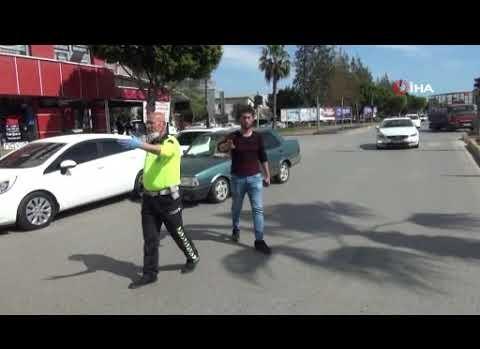 Polisi görünce arkasına bakmadan kaçtı