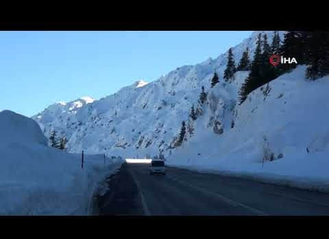 Toros Dağları'ndan muhteşem görüntüler