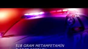 Direksiyon ve şoför koltuğundan uyuşturucu çıktı