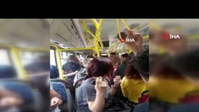 Halk otobüsünde taciz iddiası ortalığı karıştırdı!