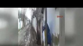 Hastayı 500 metre sırtında taşıdı
