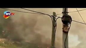 İskenderun'daki yangınların görüntüleri sosyal medyayı ayağa kaldırdı