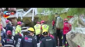İzmirde enkaz altındaki Seher Perinçek ve 4 çocuğuna ulaşıldı