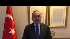 """Mevlüt Çavuşoğlu'ndan Antalyalılara Çağrı: """"Lütfen evde kal ANTALYA"""""""