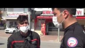 Polisin dur ihtarına uymayarak kaçıp kaza yaptı, ceza yazılmaması için uzun süre dil döktü
