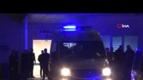 Türel ve Özhaseki#039;nin yaralandığı kaza kameralara yansıdı