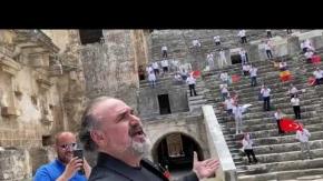 Türk Pavorotti'yi Aspendos sıcağı çarptı