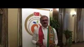 Vali Karaloğlu'ndan Antalyalılara destek çağrısı