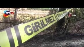 Yangın sonrası yanmış ceset bulundu