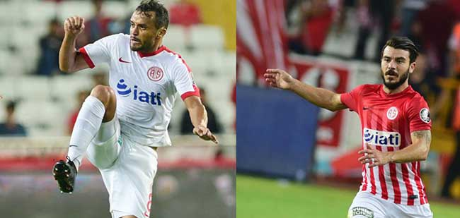 Antalyaspor iki futbolcunun sözleşmesini uzattı