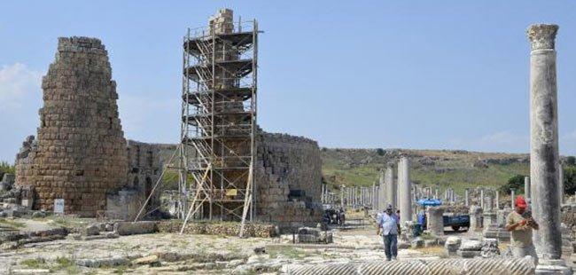Perge Antik kenti 'sürgün yeri' oldu' iddiası