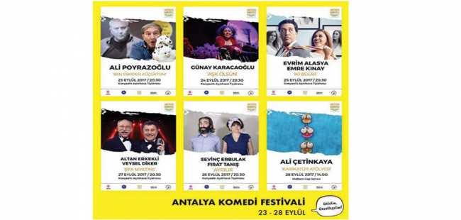 Antalya'da komedi festivali