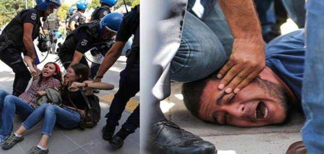 Gülmen ve Özakça davasında polis müdahalesi