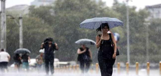 AKOM'dan yağmur ve serin hava uyarısı