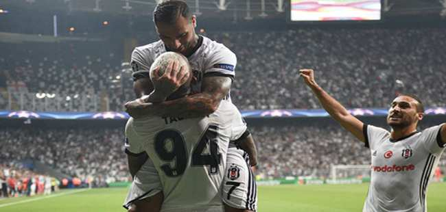 Beşiktaş'tan müthiş galibiyet