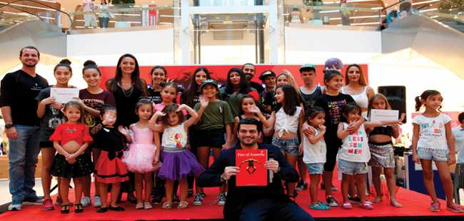 Mall of Antalya'da ödüllü dans yarışması