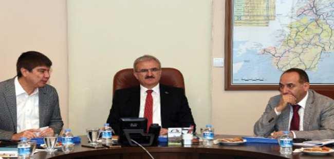 Antalya'da ulaşım toplantısı