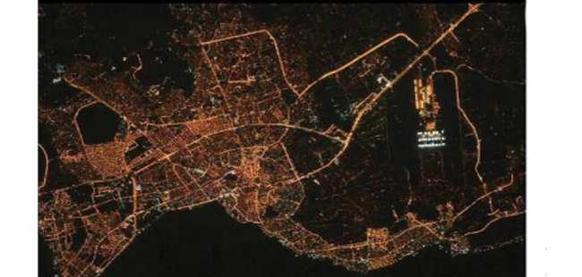 İşte uzaydan Antalya'nın görünüşü