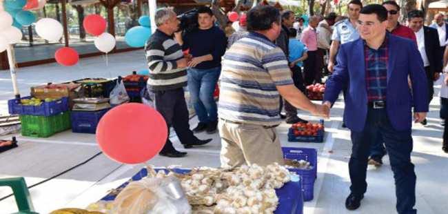 Organik pazar Antalyalıları bekliyor