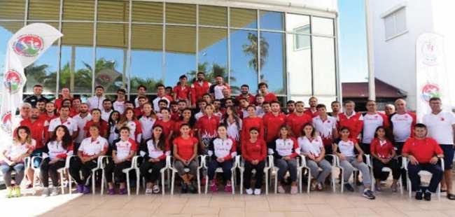 Milli Atletler Antalya'da