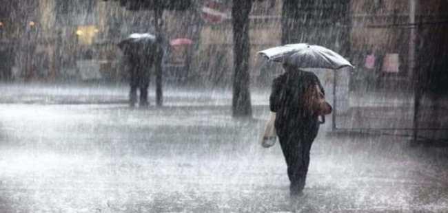 Meteoroloji'den  3 ile yağmur uyarısı