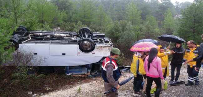 Çinli turist kurtarılamadı