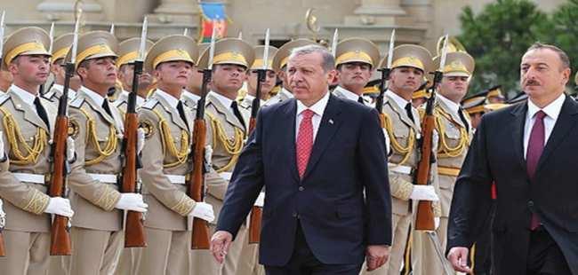 Cumhurbaşkanı Erdoğan Azerbaycan'da
